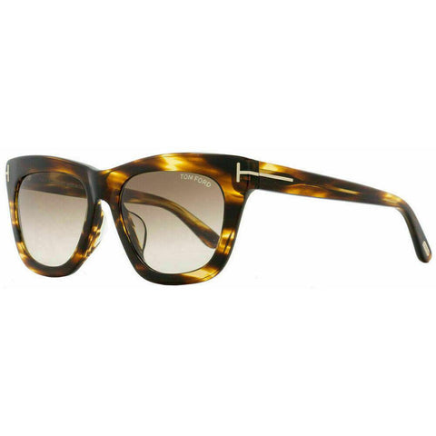 Tom Ford Celina Sunglasses Havana Frame Brown Gradient Lens FT0361 50F 55-18 140