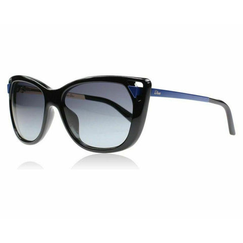 New Christian DIOR Chromatic 1/S 6LW-HD Black / Gray Sunglasses Authentic