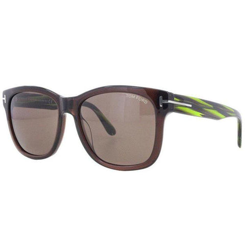 Tom Ford Sunglasses Square Style Brown Lens