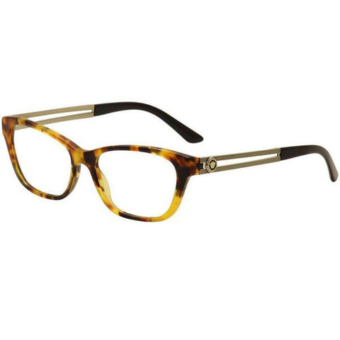 Versace Eyeglasses Women Rectangle Frame with Demo Lens