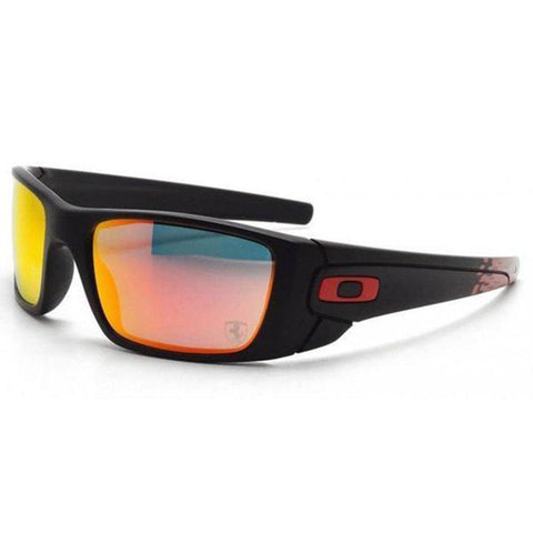 ddc23ddea6ee Oakley Sunglasses Fuel Cell Sports Style Ruby Iridium Mirrored Lens