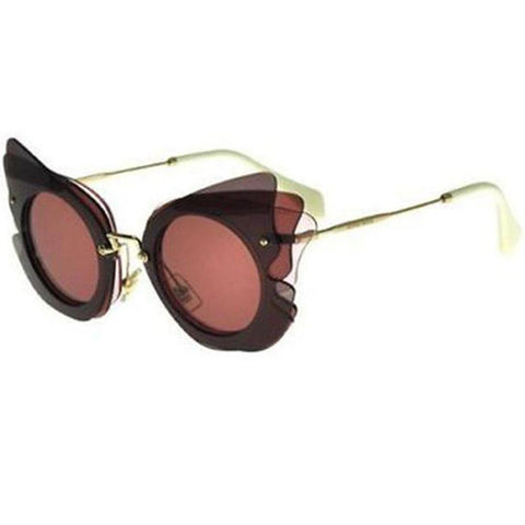 Miu Miu Sunglasses Cat Eye Style Pink Lens