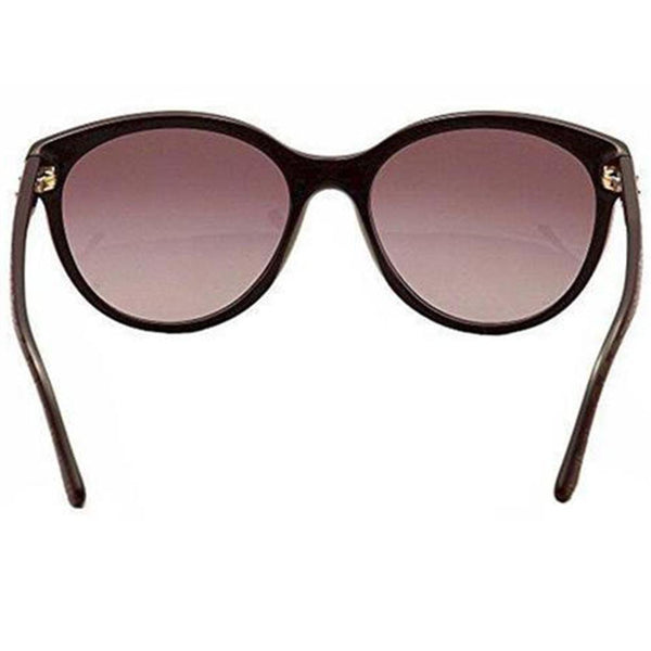 Versace Sunglasses Women Cat Eye Frames Violet Lens | Back