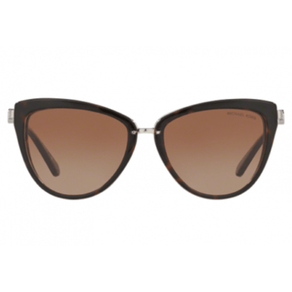 Michael Kors Cat Eye Style Sunglasses W/Brown Lens