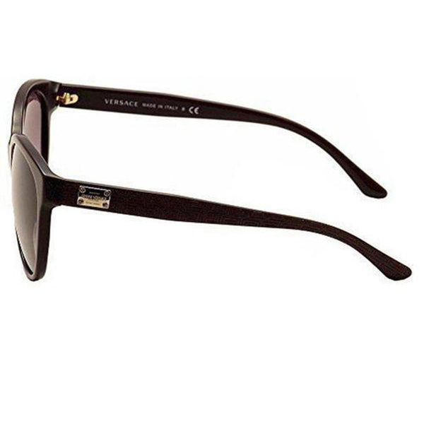 Versace Sunglasses Women Cat Eye Frames Violet Lens | Side