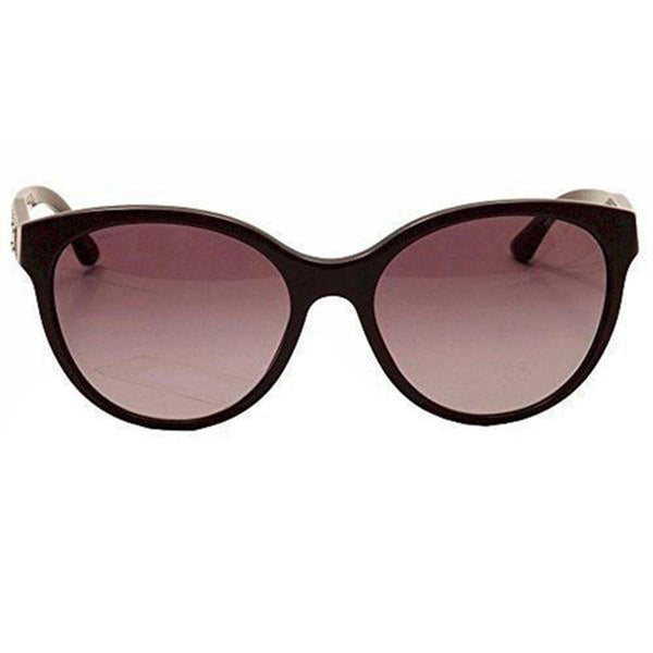 Versace Sunglasses Women Cat Eye Frames Violet Lens | Front