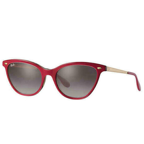Ray Ban Sunglasses Lady RB4360 1234/11 54 Bordeaux Grey Gradient