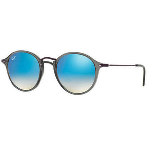 Ray Ban Sunglasses RB2447NF 62554O 52MM Grey Blue Gradient Round GENUINE