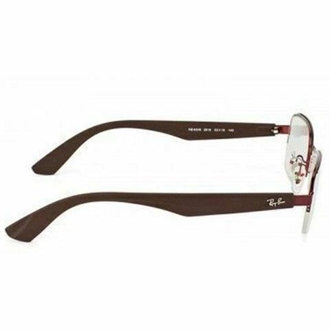 Ray Ban Rectangular Style Bordeaux  Eyeglasses W/Demo Lens