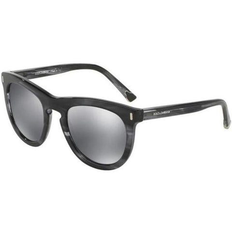 Dolce & Gabbana Sunglasses Round Style Gray Lens