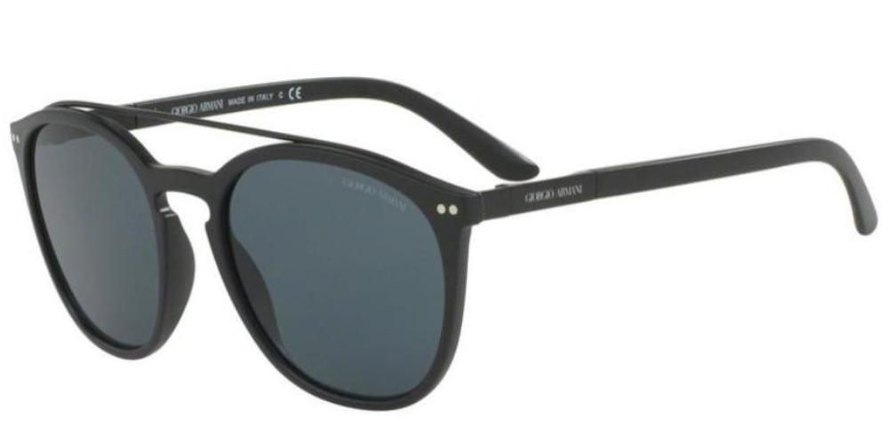 Giorgio Armani Women AR8088 504287  Sunglasses Matte Black Grey Lens