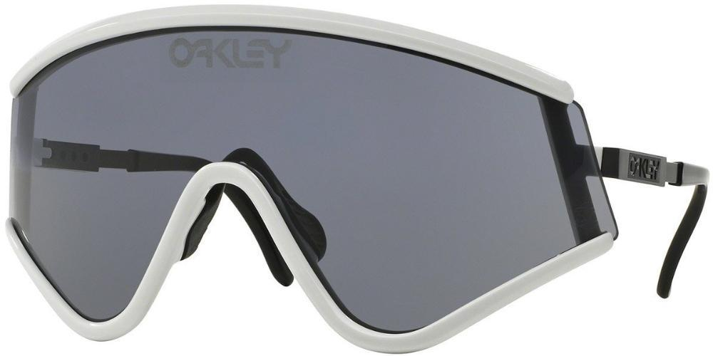 Oakley Men Sport Sunglasses White Frame Grey Lens OO9259-06 128mm