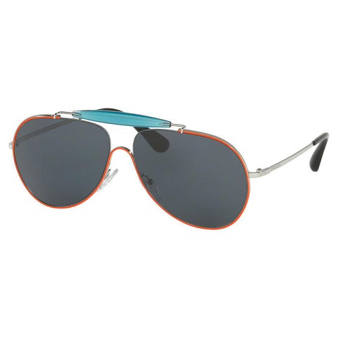 Prada Sunglasses Aviator Style Blue Polarized Lens