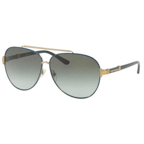 Tory Burch Sunglasses Pilot Style Green Lens