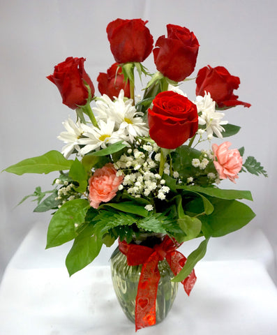 Elegant Rosey Arrangement