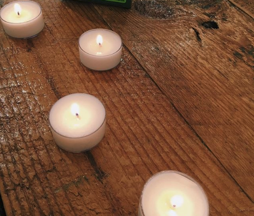 Mosquito Repellent Tea Lights (16 Pcs)