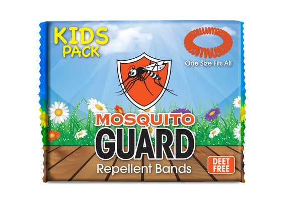 Mosquito Guard Kids Spiral Repellent Bands (20 Pack)