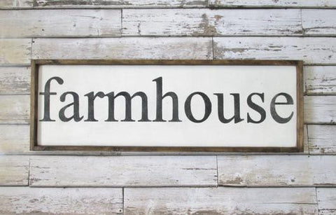 farmhouse kitchen sign