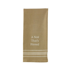 A Nest That's Blessed Dishtowel