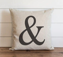 Ampersand 20 x 20 Pillow Cover