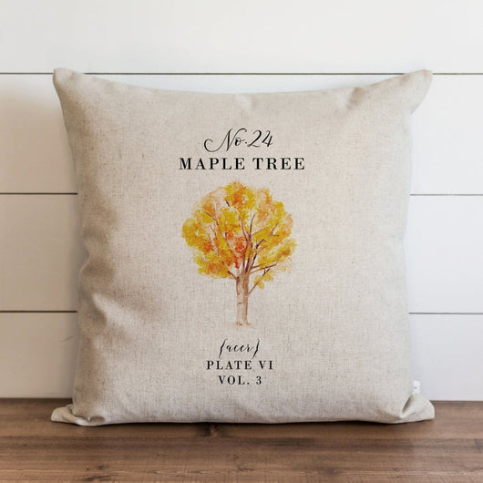 Autumn Maple Tree Pillow Cover