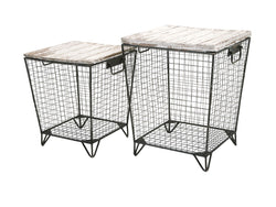Ava Cage Tables - Set of 2