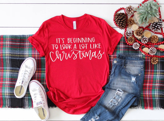 Beginning to Look a lot Like Christmas T-Shirt
