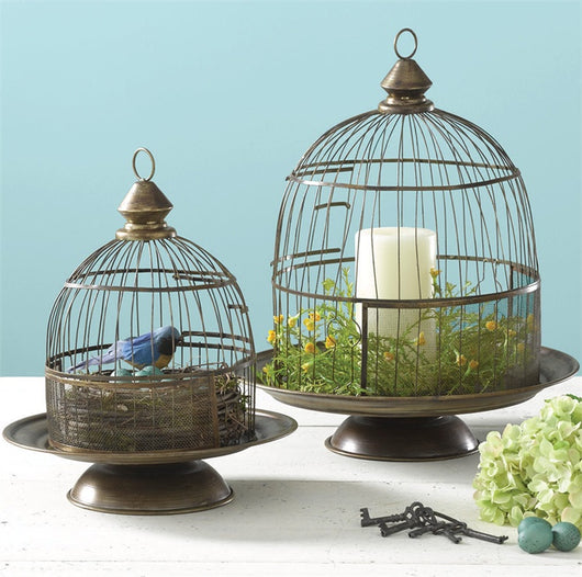 Birdcage Cloches - Set of 2