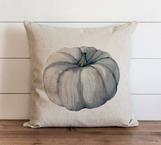modern rustic Watercolor Pumpkin Pillow Cover