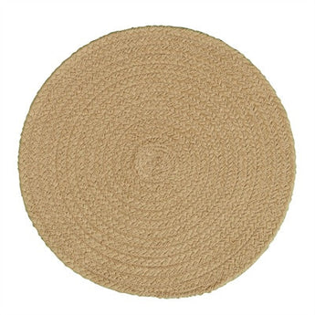 Tan Braided Placemat - Set of 4