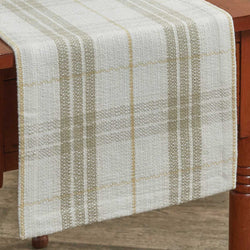 rustic COCOA BUTTER TABLE RUNNER - 54