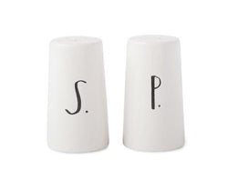 Copy of Rae Dunn Stem Print Salt + Pepper Shakers with Gift Box