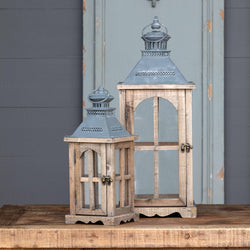 Cottage Lanterns, Set of 2