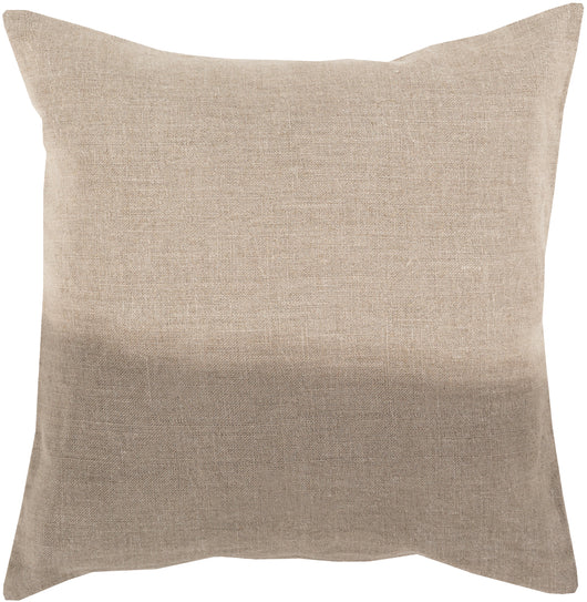 Dip Dyed Linen Throw Pillow