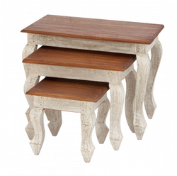 Distressed Country Nesting Tables
