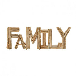 Driftwood Family Sign