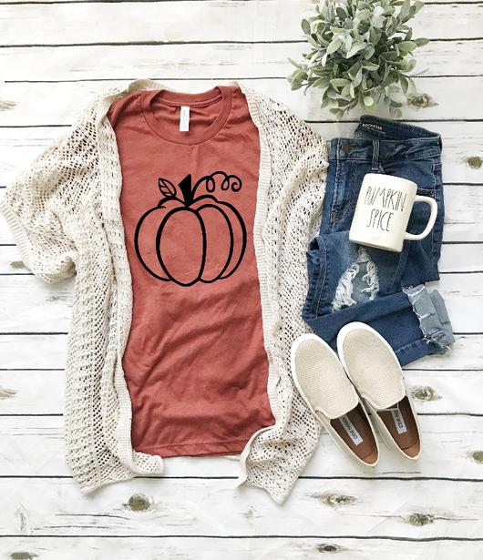 Fall Pumpkin T-Shirt