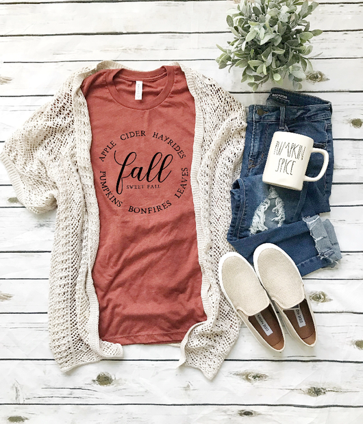 Fall Sweet Fall Clay T-Shirt
