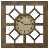 Gate Metal Wall Clock