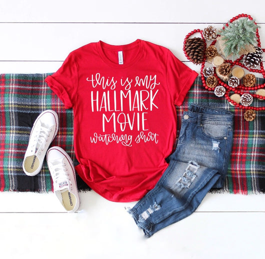 Hallmark Movie Red T-Shirt