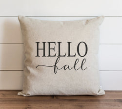 Hello Fall 20 x 20 Pillow Cover