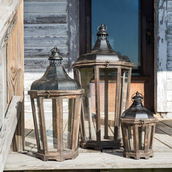Hillcrest Lanterns, Set of 3