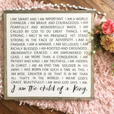 I am a child of God Sign
