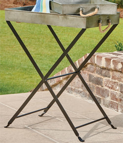 Iron Tray Table Stand