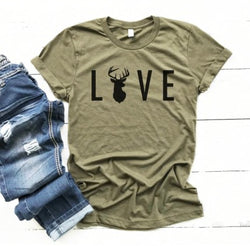 Love Antlers T-Shirt