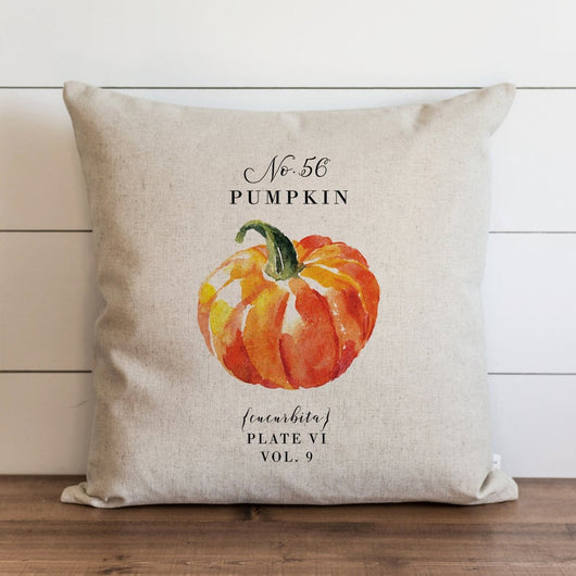 No. 56 Pumpkin Pillow Cover