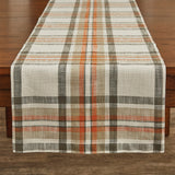 "October Spice Table Runner - 72""L farmhouse fall"