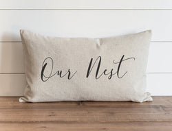 Our Nest 16 x 26 Lumbar Pillow Cover