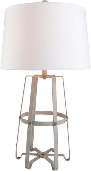 Pickford Galvanized Table Lamp