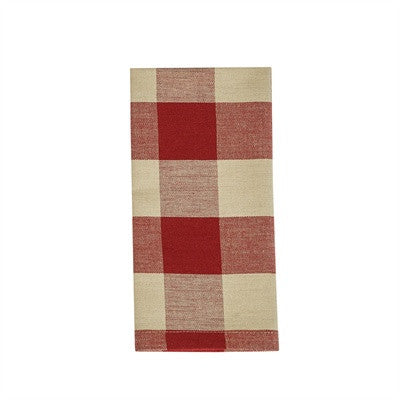 Picnic Basket Napkin - Red Check